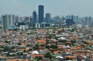 kepadatan penduduk kota besar di Indonesia