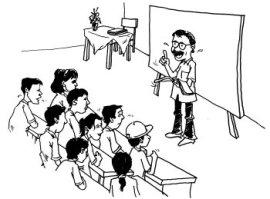 Image result for Karena harus digugu dan ditiru, guru harus pintar berpura-pura di depan peserta didik.