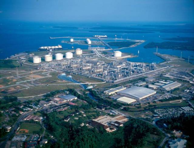 kawasan industri minyak Bontang