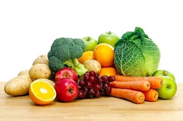 air maya dalam sayuran dan buah-buahan