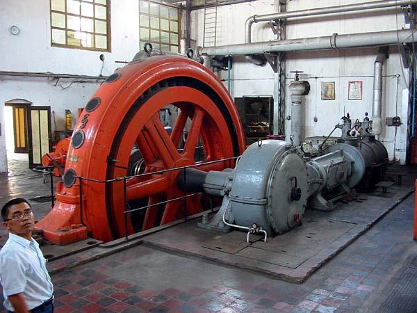 Mesin giling tebu  tenaga uap