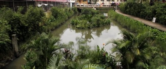 Sungai di Sudut Kota Manila