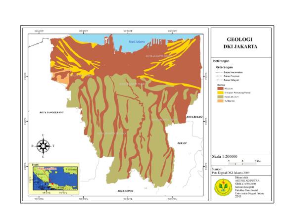 Peta Geologi Jakarta