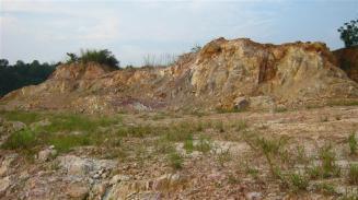 Bukit sisa (residual hill)